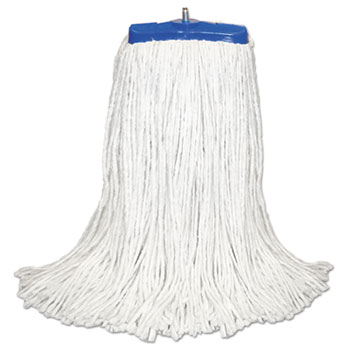 Boardwalk® Cut-End Lie-Flat Economical Mop Head Thumbnail