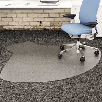 supermat frequent use chair mat by deflecto defcm14003k