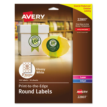 Avery® Round Labels Thumbnail