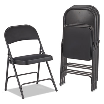 Alera® Steel Folding Chair with Two-Brace Support Thumbnail