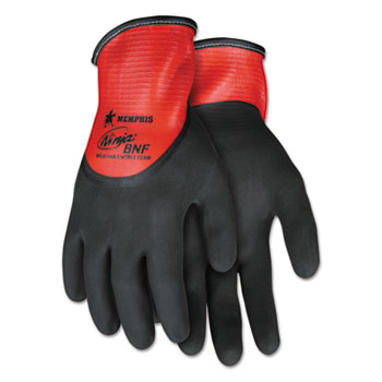 MCR™ Safety Ninja® N96785 Full Nitrile Dip BNF Gloves Thumbnail