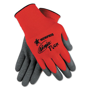 MCR™ Safety Ninja® Flex Latex Coated Palm Gloves N9680 Thumbnail