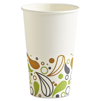Boardwalk® Deerfield Printed Paper Hot Cups Thumbnail