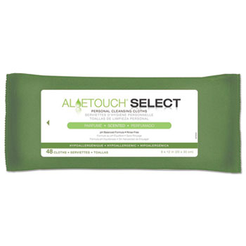 Medline Aloetouch® Select Premium Personal Cleansing Wipes Thumbnail