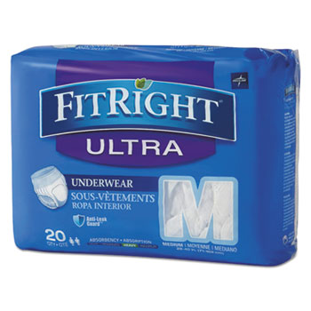 Medline FitRight® Ultra Protective Underwear Thumbnail