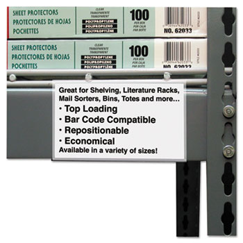 C-Line® Self-Adhesive Label Holders Thumbnail