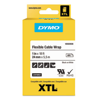 DYMO® XTL™ Flexible Cable Wrap Labels Thumbnail