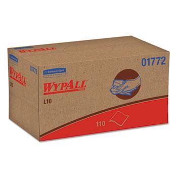 L10 SANI-PREP Dairy Towels,POP-UP Box, 1Ply, 10 1/2x10 1/4, 110/Pk, 18 Pk/Carton