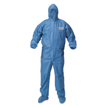 KleenGuard* A60 Bloodborne Pathogen & Chemical Splash Protection Coveralls Thumbnail