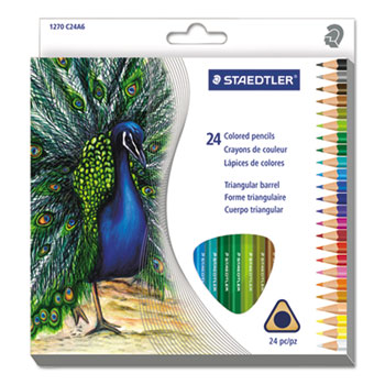 Staedtler® Triangular Colored Pencil Set Thumbnail