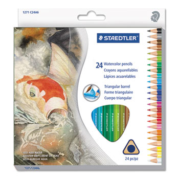 Staedtler® Triangular Watercolor Pencil Set Thumbnail