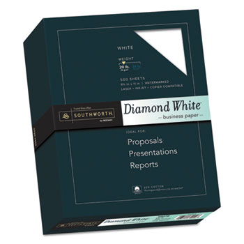 Southworth® 25% Cotton Diamond White® Business Paper Thumbnail