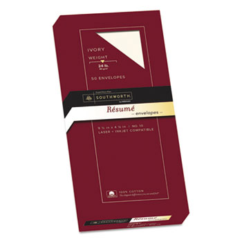 Southworth® 100% Cotton Resume Envelope Thumbnail