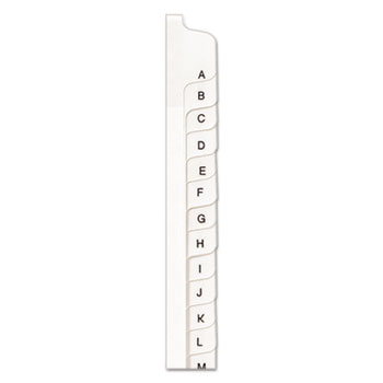 Avery® Preprinted Legal Exhibit Index Tab Dividers with Black and White Tabs Thumbnail