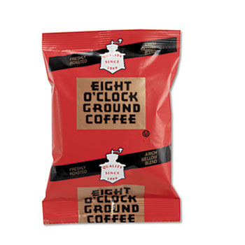Eight O'Clock Regular Ground Coffee Fraction Packs Thumbnail