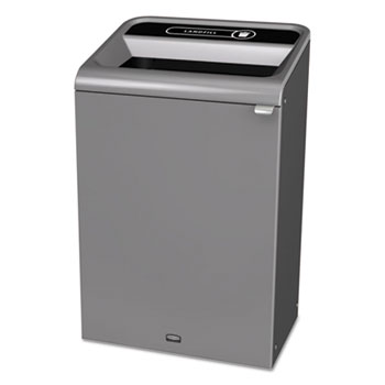 Rubbermaid® Commercial Configure™ Indoor Recycling Waste Receptacle Thumbnail