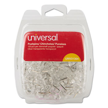 Universal® Clear Push Pins Thumbnail