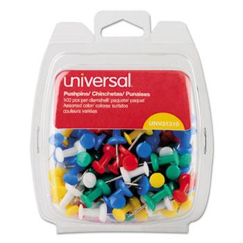 Universal® Colored Push Pins Thumbnail