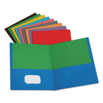 Oxford™ Twisted Twin Pocket Folder Thumbnail
