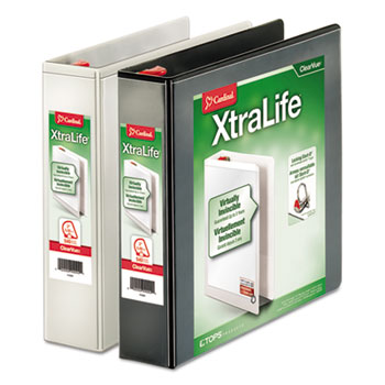 Cardinal® XtraLife® ClearVue™ Non-Stick Locking Slant-D® Ring Binder Thumbnail