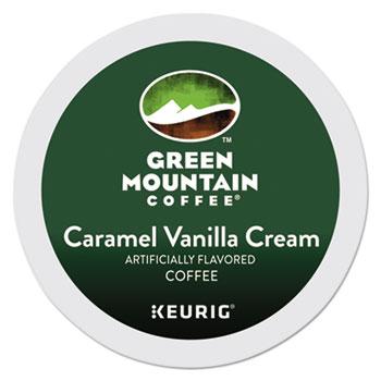 Green Mountain Coffee® Caramel Vanilla Cream Coffee K-Cups® Thumbnail