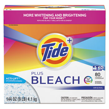 Tide® Plus Bleach Powder Laundry Detergent Thumbnail