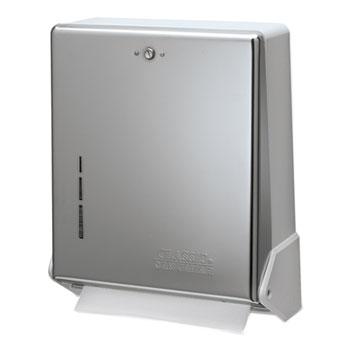San Jamar® True Fold™ C-Fold/Multifold Towel Dispenser Thumbnail