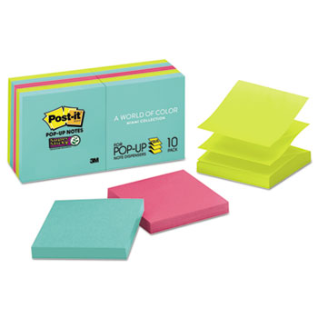 Post-it® Pop-up Notes Super Sticky Pop-up 3 x 3 Note Refill Thumbnail