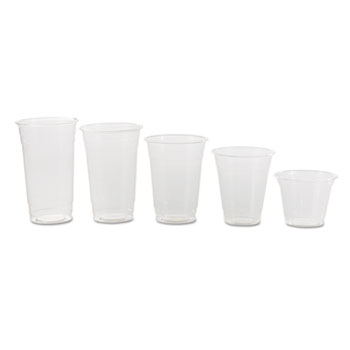 NatureHouse® Compostable Clear Corn Plastic Cups Thumbnail