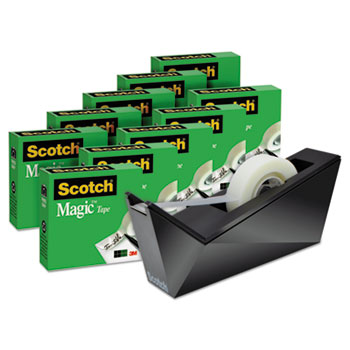 Scotch® Magic™ Tape Designer Desktop Dispenser Value Pack Thumbnail
