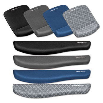 Fellowes® PlushTouch™ Wrist Rest with FoamFusion™ Technology Thumbnail