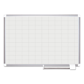 MasterVision® Gridded Magnetic Steel Dry Erase Planning Board Thumbnail