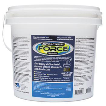 2XL FORCE Antibacterial Wipes Thumbnail