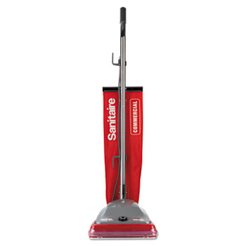 Vacuum with Vibra-Groomer II, 16lb, Red