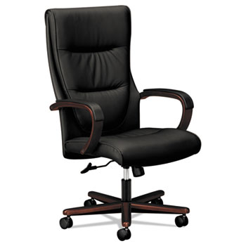 basyx® VL844 Leather High-Back Chair Thumbnail