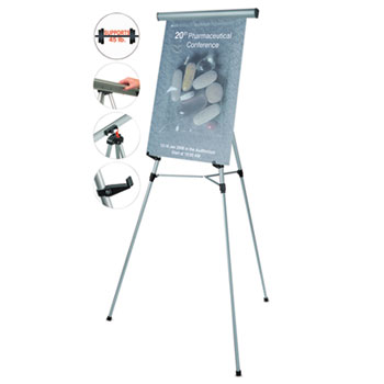 telescoping tripod display easel by mastervision bvcflx09102mv