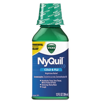 Vicks® NyQuil™ Cold & Flu Nighttime Liquid Thumbnail