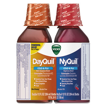 Vicks® DayQuil™/NyQuil™ Cold & Flu Liquid Combo Pack Thumbnail