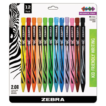 Zebra® Cadoozles Starters Mechanical Pencil Thumbnail