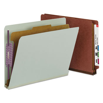 Smead® End Tab Pressboard Classification Folders With SafeSHIELD® Coated Fasteners Thumbnail