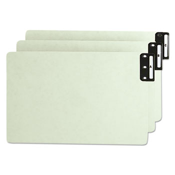 Smead® 100% Recycled End Tab Pressboard Guides with Metal Tabs Thumbnail