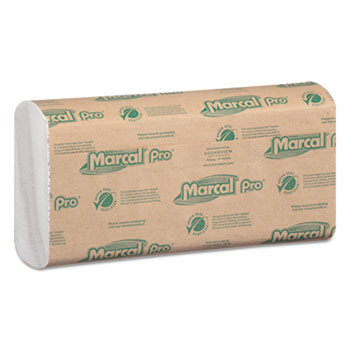 Marcal PRO™ 100% Recycled Folded Paper Towels Thumbnail