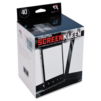 Read Right® Alcohol-Free ScreenKleen™ Wipes Thumbnail