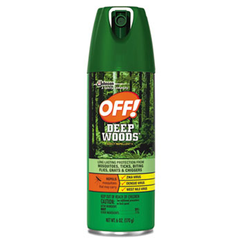 OFF!® Deep Woods® Aerosol Insect Repellent Thumbnail