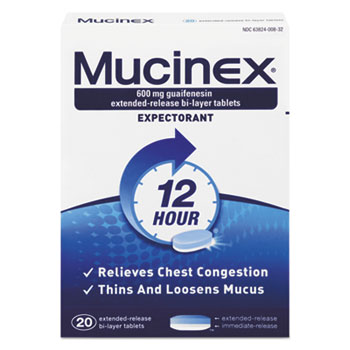 Mucinex® Expectorant Regular Strength Thumbnail