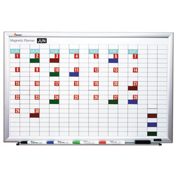 AbilityOne® SKILCRAFT® Magnetic Work/Plan Dry Erase Kit Thumbnail