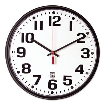 AbilityOne® SKILCRAFT® Self-Set Wall Clock Thumbnail