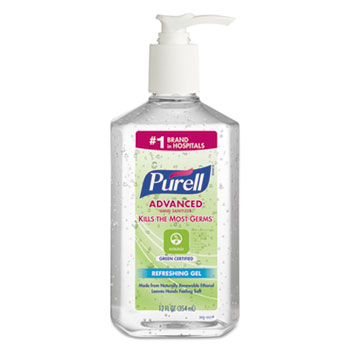 PURELL® Advanced Green Certified Instant Hand Sanitizer Gel Thumbnail