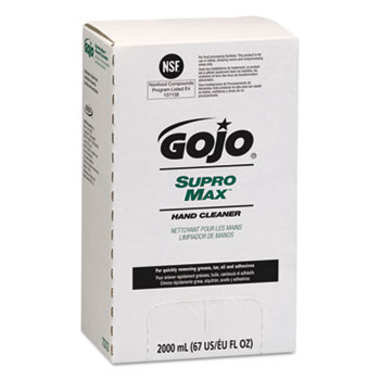 GOJO® SUPRO MAX™ Hand Cleaner in Pouch Thumbnail