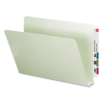 Smead® Extra-Heavy Recycled Pressboard End Tab Folders Thumbnail